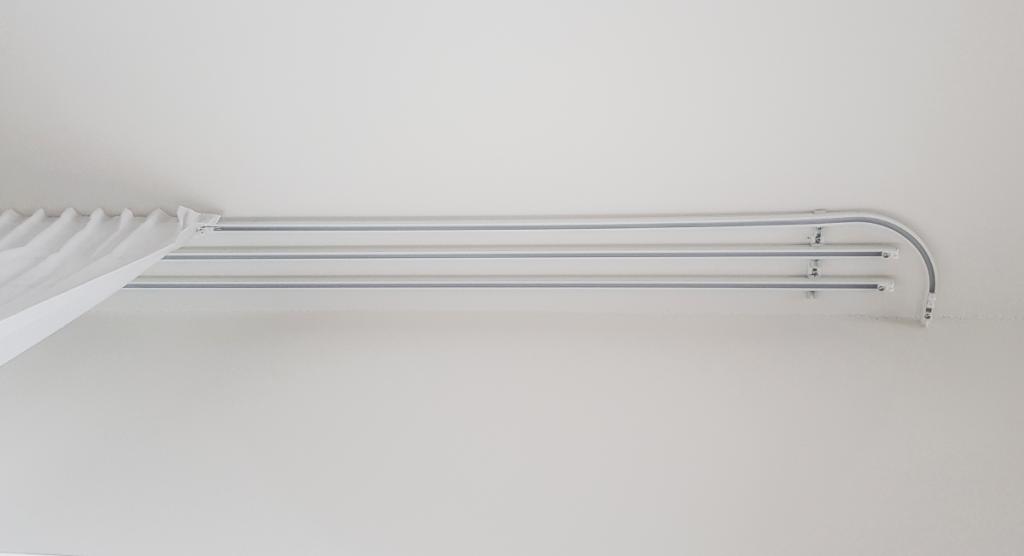 Hliníkový koľajnicový profil