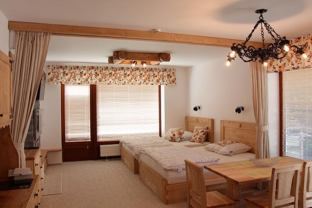 Apartmán v štýle drevenice